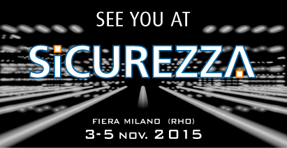 Evento fieristico SICUREZZA 2015 - RHO Milano